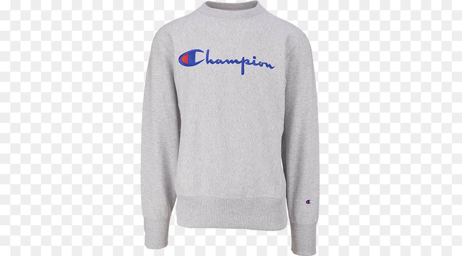 Hoodie Pullover Ärmel Champion Shirt png herunterladen