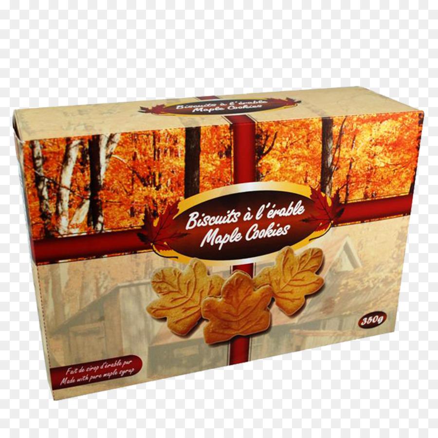 Kanadische Kuche Maple Leaf Cookies Cream Ahorn Sirup Maple