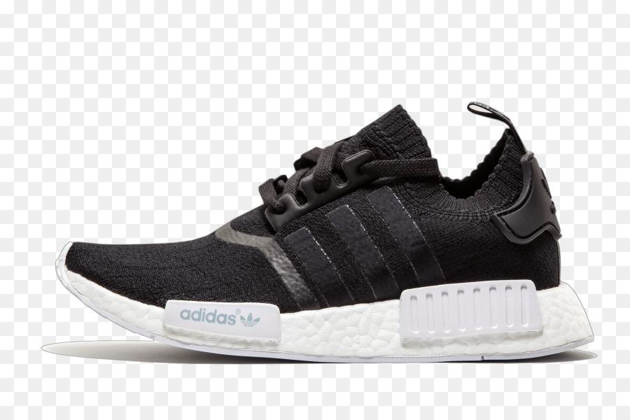 Adidas NMD R1 Primeknit 'Monochrom' Herren Sneakers Größe