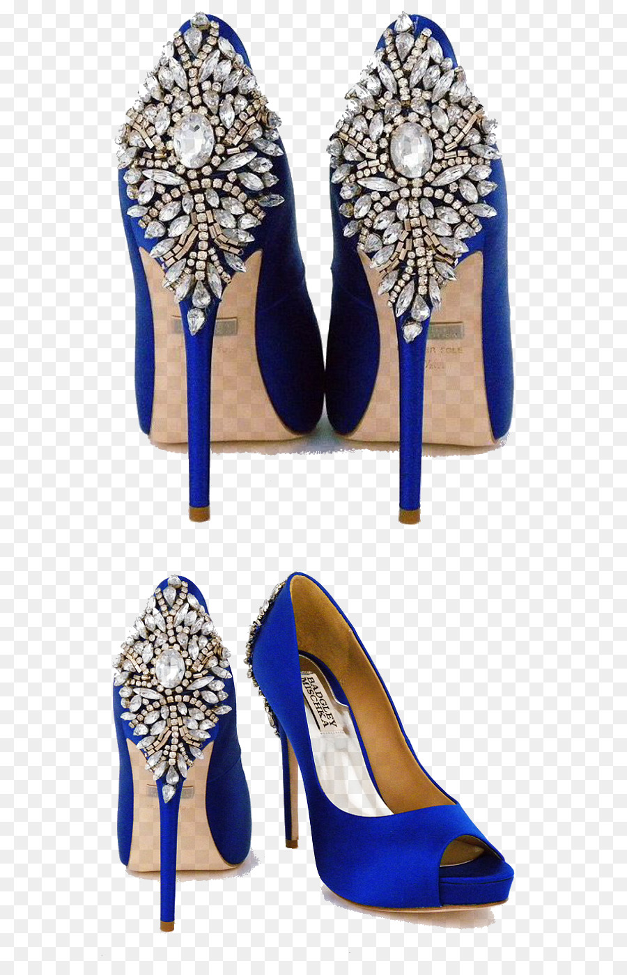 Scarpe Sposa Blu.Scarpa Donna Badgley Mischka Kiara Gioiello Tacco Piattaforma