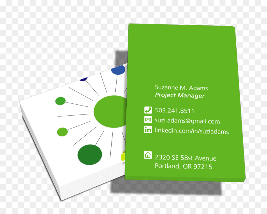 Business Card Design Project Manager Business Karten