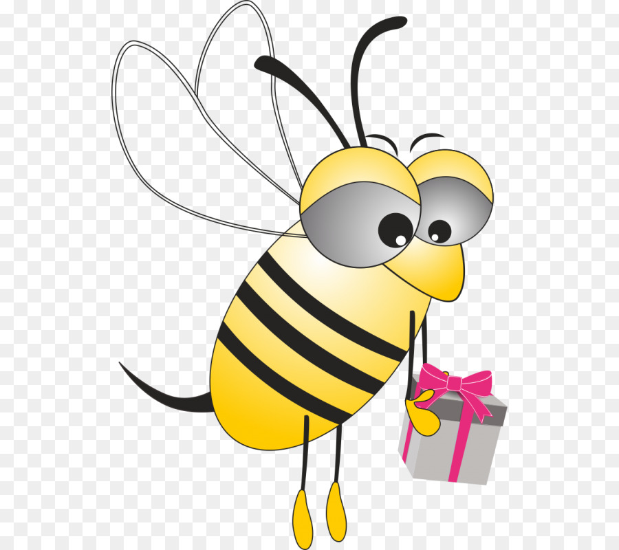 Прикольные открытки пчелки