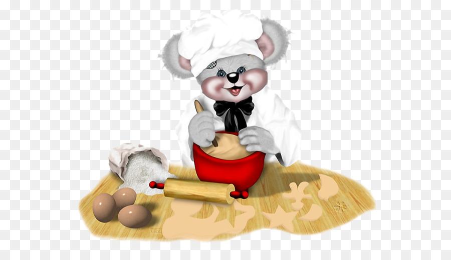 Картинка зверюшка повар