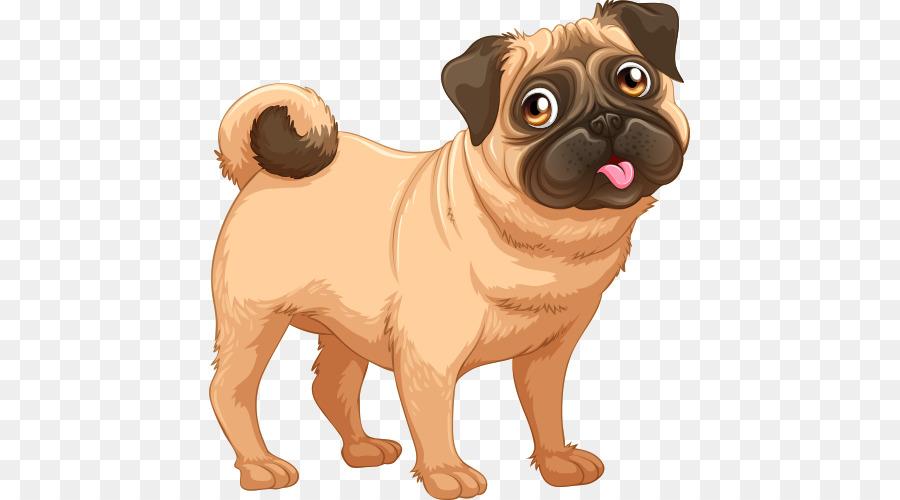 Cartoon Love Png Download 500 500 Free Transparent Pug Png Download Cleanpng Kisspng
