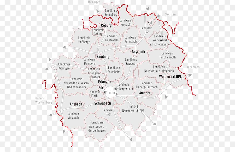 Ansbach Metropolregion Nurnberg Bayreuth Karte Coburg Anzeigen