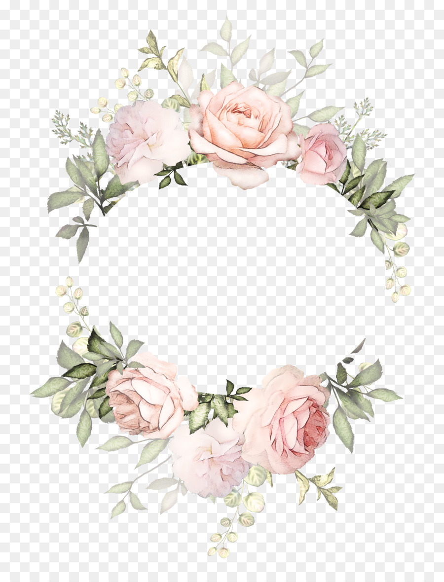 Floral Wedding Invitation Background Png Download 2957