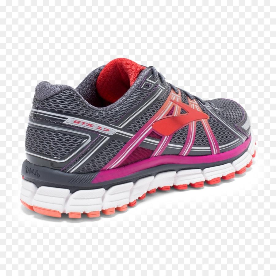 Brooks Adrenaline GTS 17 Laufen Schuhe Herren Schwarz