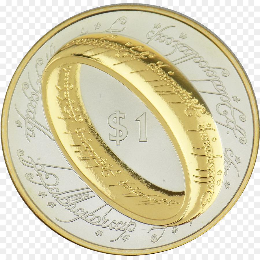Silber Münze Hochzeit Ring Gold Silber Png Herunterladen