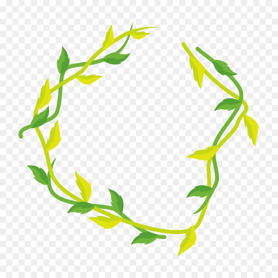 Flower Line Art Png Download 2000 2000 Free Transparent Green