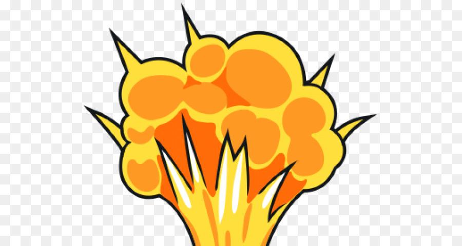 Рисунок взрыва бомбы