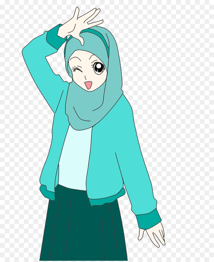 Hijab Cartoon Png 730 1095 Free Transparent