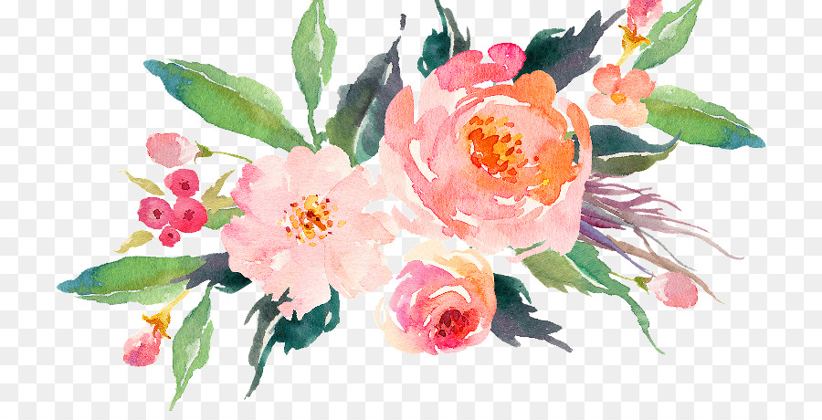 Bouquet Of Flowers Drawing Png Download 800 450 Free Transparent Watercolor Flowers Png Download Cleanpng Kisspng