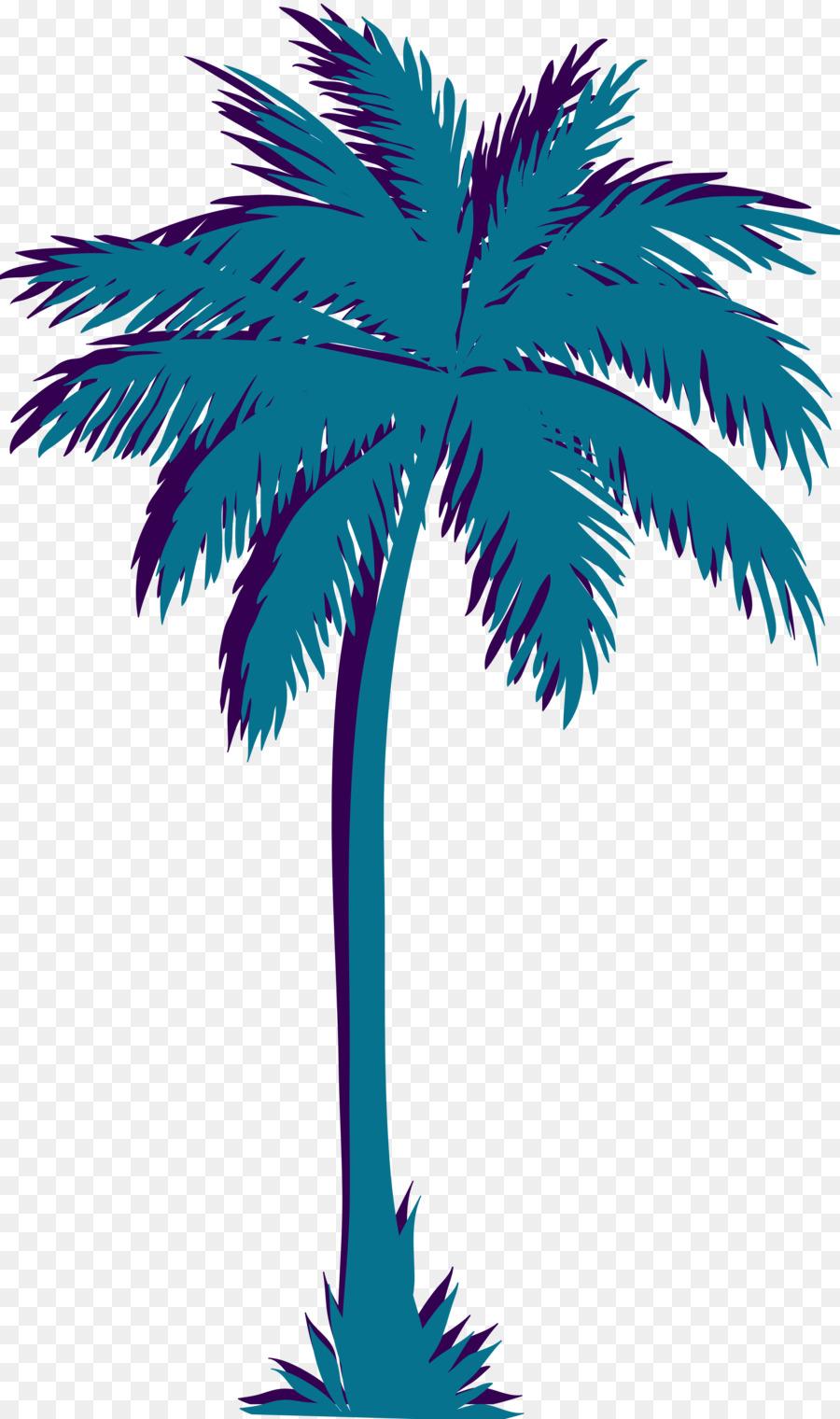 The Best Vaporwave Palm Tree Transparent Background Gif