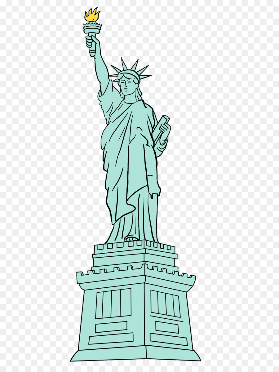 Animated Statue Of Liberty Png