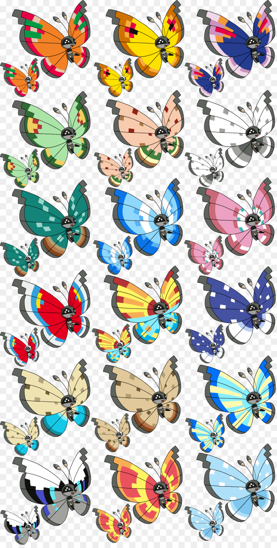 Picture of: Butterfly Cartoon Png Download 1024 2013 Free Transparent Vivillon Png Download Cleanpng Kisspng