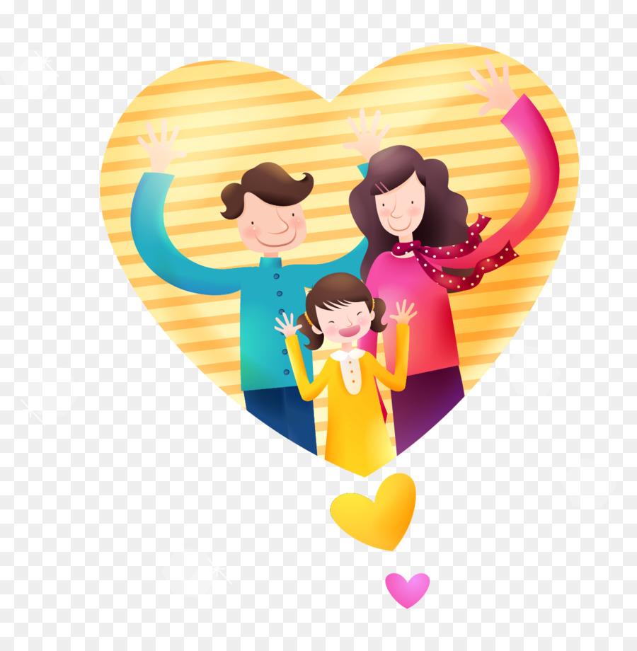 Семья в сердечке картинки