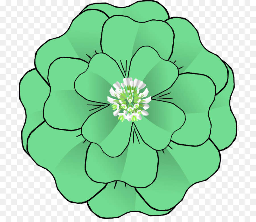Fiori Quadrifoglio.Clip Art Corsage Openclipart Flower Quadrifoglio Fiore Scaricare