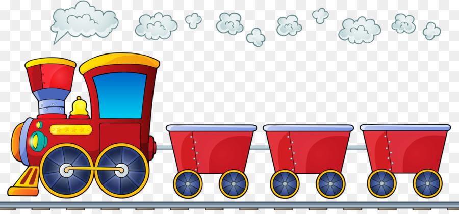 паровоз с вагонами картинки на прозрачном фоне праздника