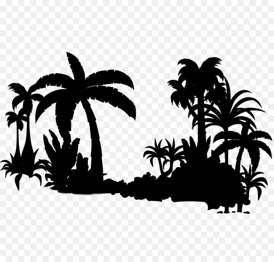 Palm Tree Silhouette Png Download 10881020 Free