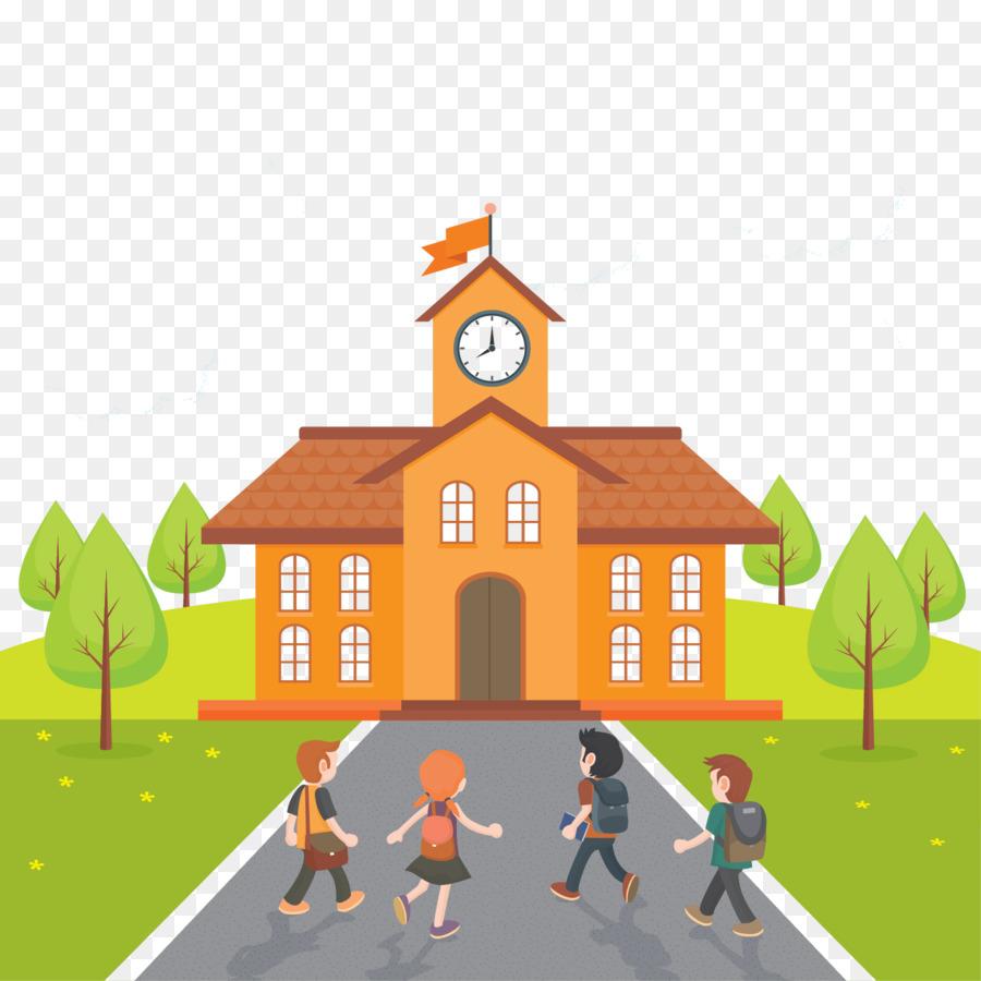 School Bus Cartoon Png Download 1667 1667 Free Transparent School Png Download Cleanpng Kisspng