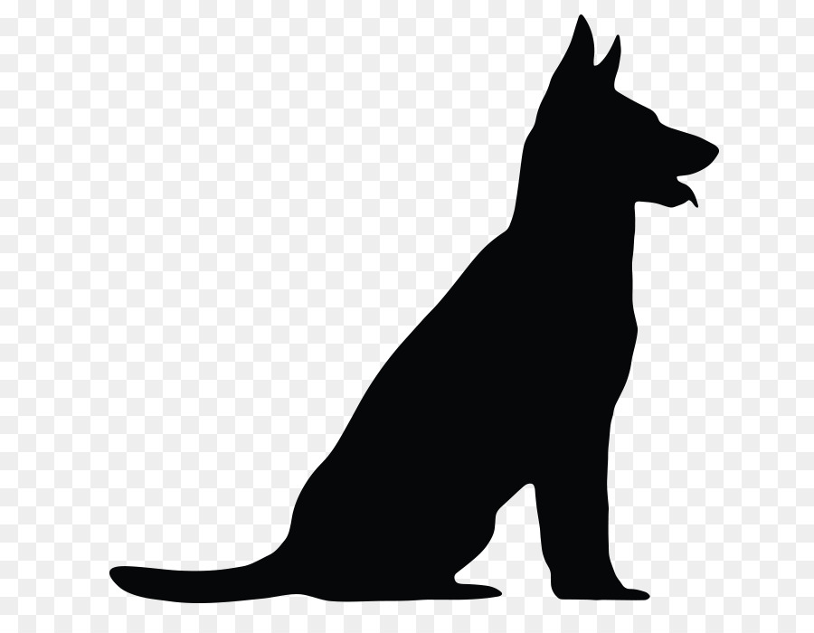 German Shepherd Silhouette : German shepherd silhouette vectors (553).