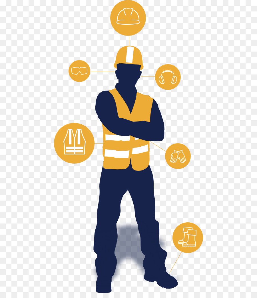 Safety Construction Worker Png Download