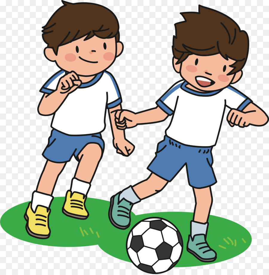 Kids Playing Cartoon Png Download 2271 2313 Free Transparent Football Png Download Cleanpng Kisspng