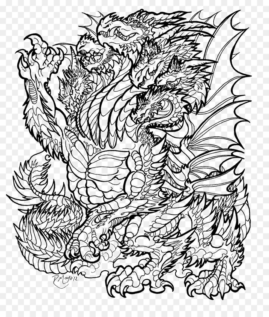 Linie Kunst Illustration Zeichnung Malbuch Malvorlagen Fur Erwachsene Png Drachen Png Herunterladen 1531 1771 Kostenlos Transparent Strichzeichnungen Png Herunterladen