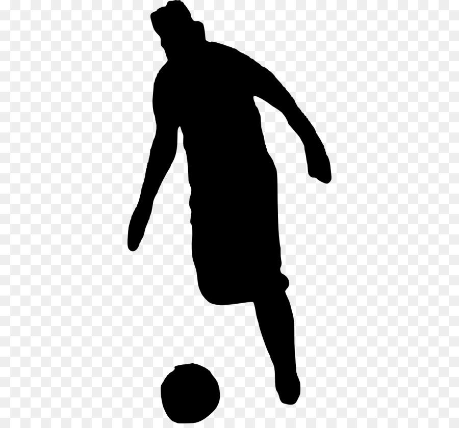 Silhouette Clipart Fussballspieler Fotografie Transparente