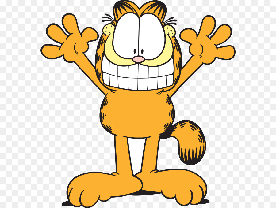 Friends Cartoon Png Download 636 680 Free Transparent Garfield Png Download Cleanpng Kisspng
