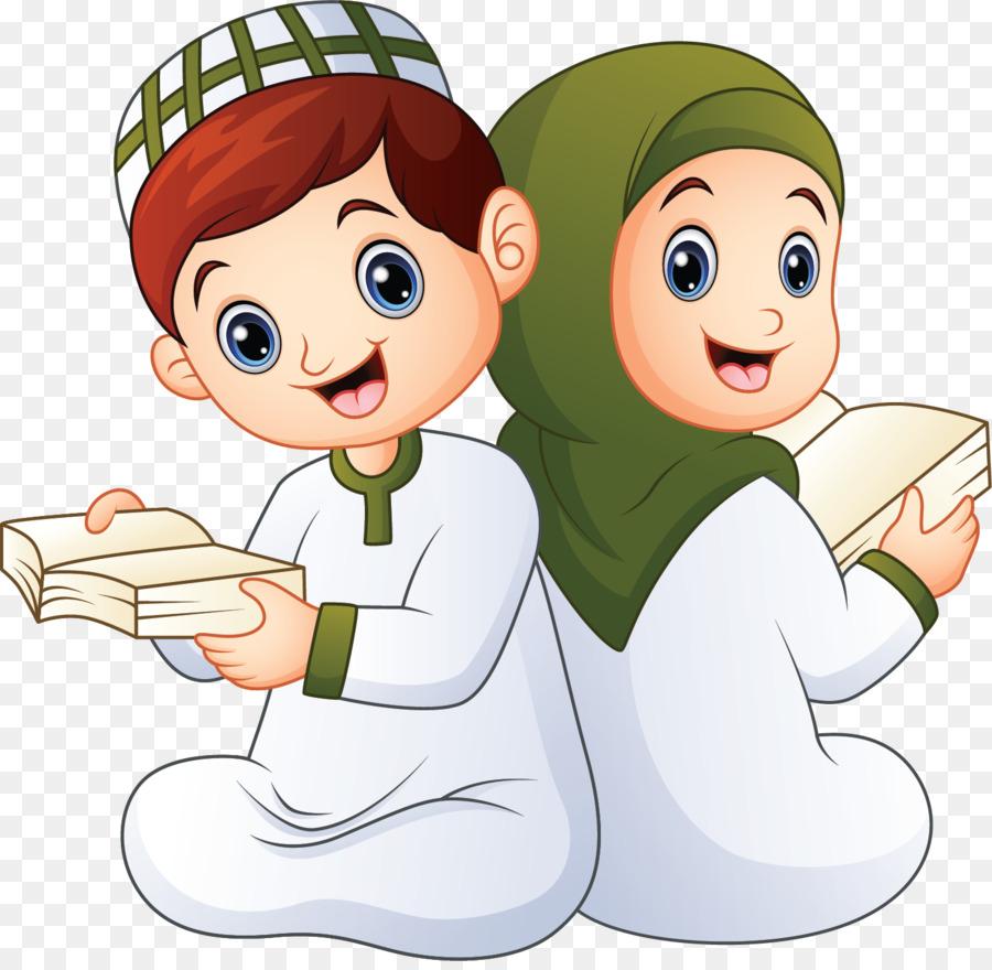Kartun Anak Anak Muslim Png - HijabFest