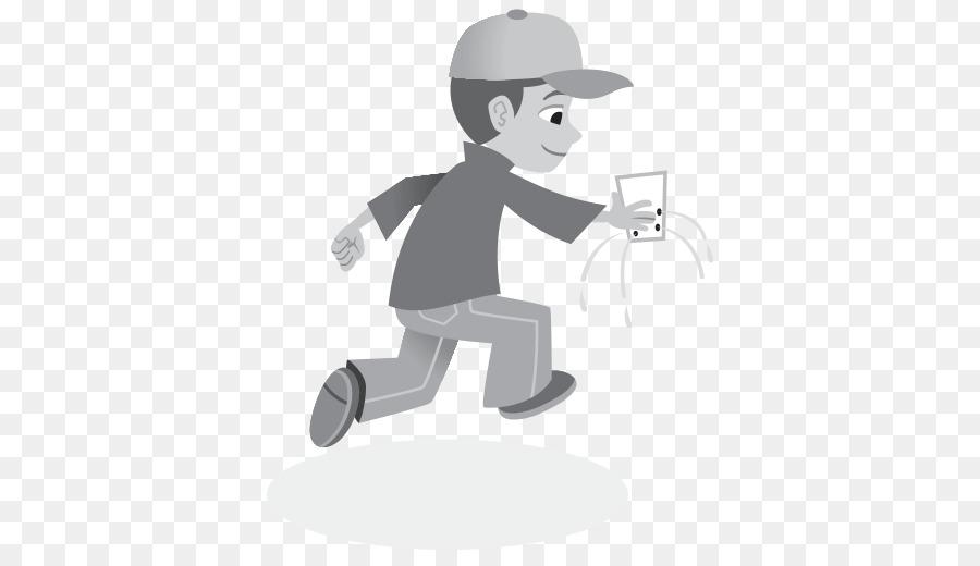 Black and White Farmer Boy Clip Art - Black and White Farmer Boy Image