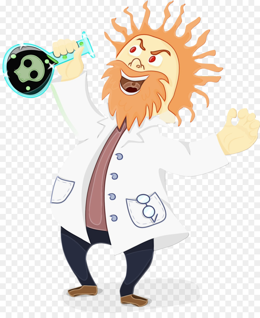 Download Pretty Free Mad Scientist Clipart - Png Download (#1284589) -  PinClipart