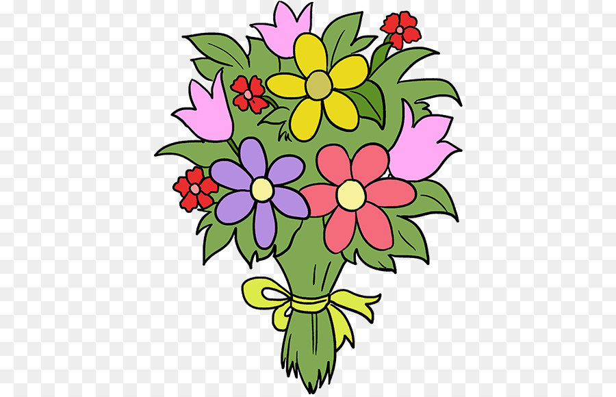 Disegno Mazzo Di Fiori.Bouquet Di Fiori Disegno Clip Art Di Disegno Floreale Come
