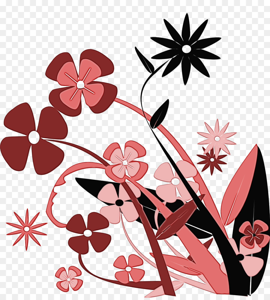 Cherry Blossom Cartoon Png Download 1331 1469 Free
