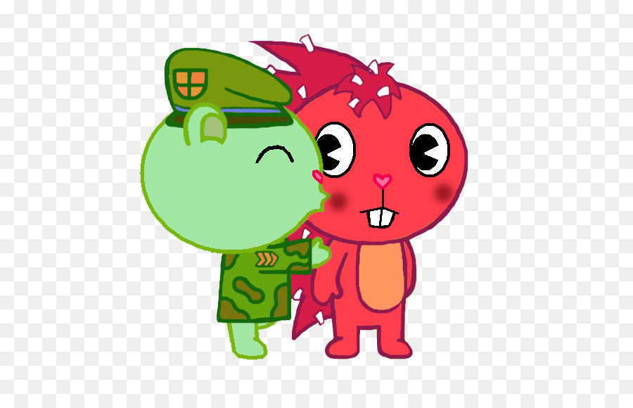 Kiss Cartoon Png Download 665 580 Free Transparent Flippy Png Download Cleanpng Kisspng