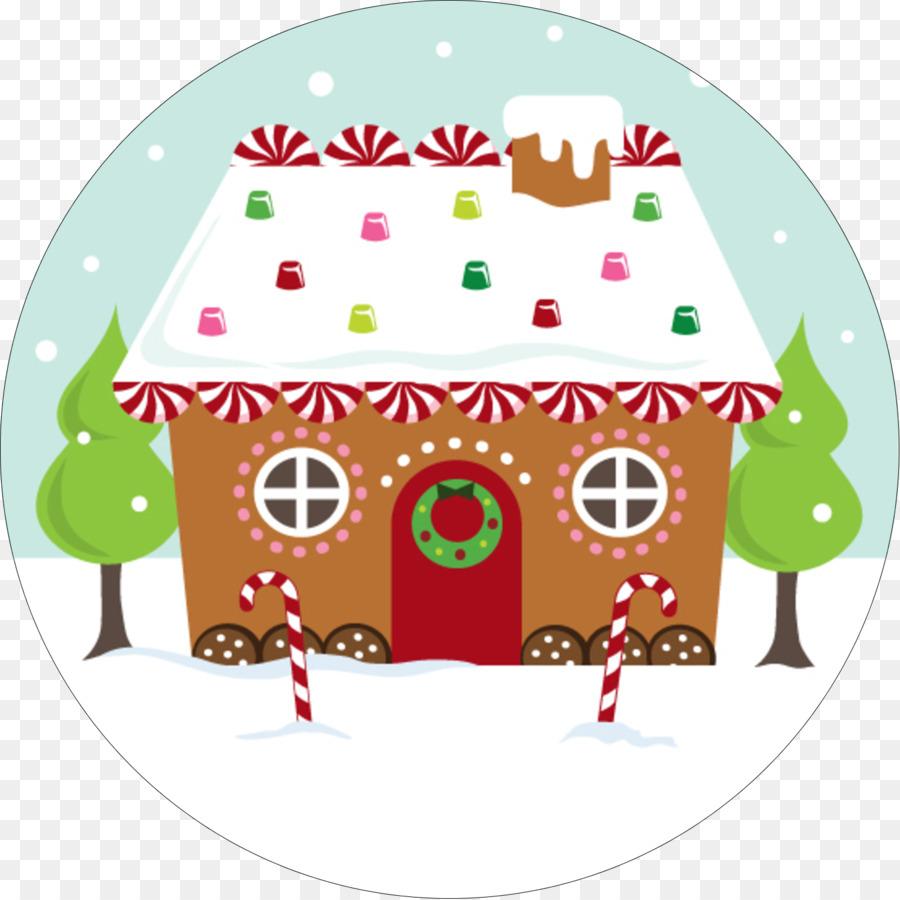 Christmas Gingerbread House Clip Art