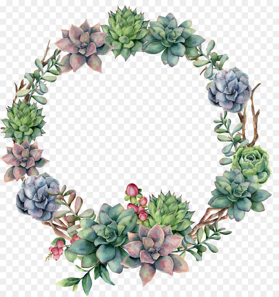 Christmas Wreath Png Transparent.Watercolor Christmas Wreath Png Download 3570 3804 Free