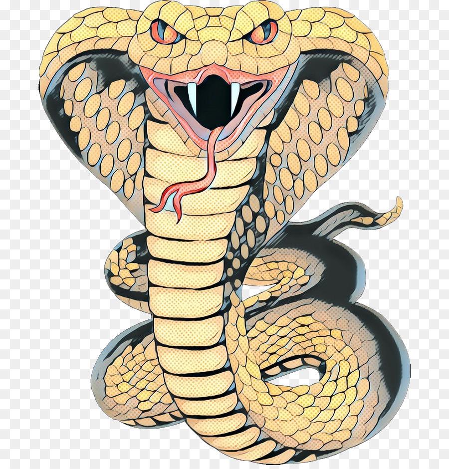 рисунок кобра с капюшоном