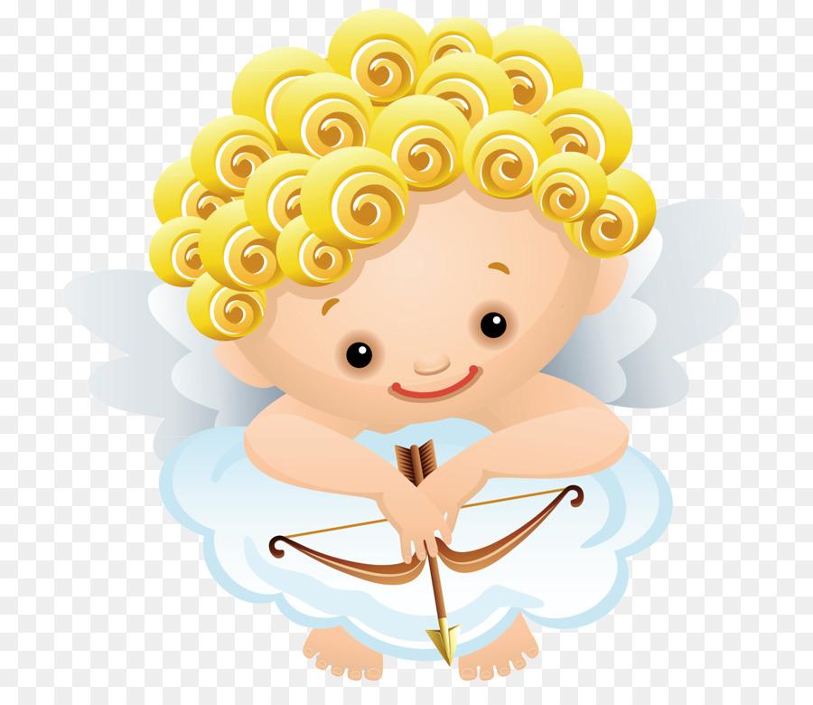 Cartoon Yellow Angel Clip Art Cupid Png Download 780 768 Free Transparent Cartoon Png Download Cleanpng Kisspng