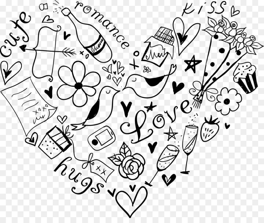 Line Art Text Font Coloring Book Doodle Png Download - 1000*825 - Free  Transparent Line Art Png Download. - CleanPNG / KissPNG