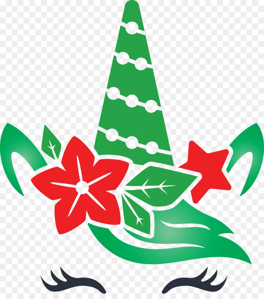 weihnachten einhorn clipart  gezeichnet ikone reizend